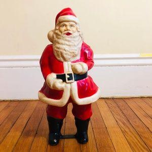 "VINTAGE Christmas Holiday SANTA CLAUS Figure 17"""